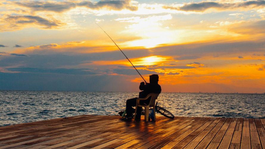 スキッパー、新たな趣味として「釣り」を始める